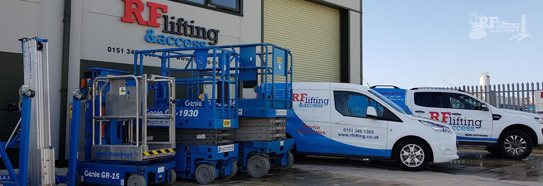 RF Lifting & Access Ltd – Genie Access Equipment Distributors