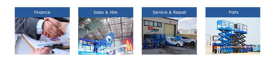 RF Lifting & Access Ltd – Genie Access Equipment Distributors